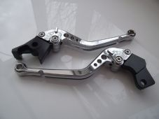 Suzuki 600/750 KATANA (98-06), CNC levers long chrome/chrome adjusters, F14/S650
